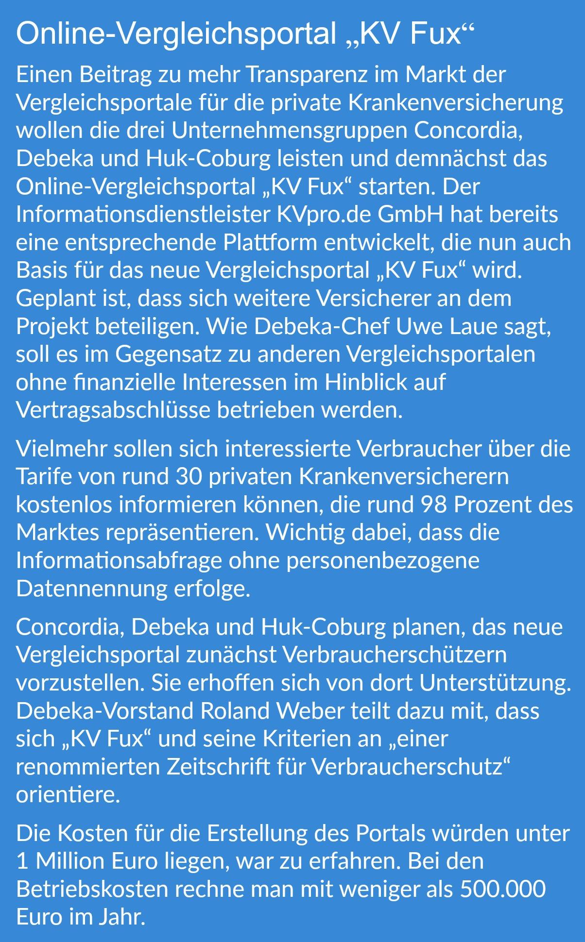 Debeka 2016 Mehr Vertrage Und Neue Mitglieder Bocquell News De